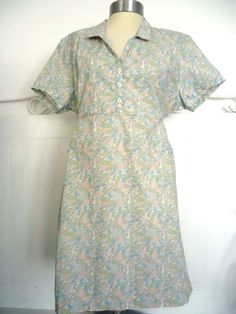 SUMMERY HOWIES ORGANIC COTTON FLORAL FLOWER PATTERN SHORT SLEEVE DRESS SIZE 16