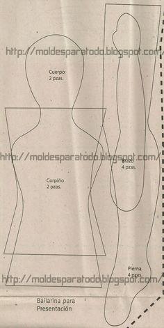 Znalezione obrazy dla zapytania bonecas tilda bailarina