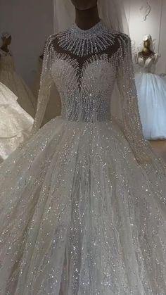 Wedding Dress Bustle, Luxury Wedding Dress, Wedding Dresses For Girls, Elegant Wedding Dress, Bridal Dresses, Ball Dresses, Ball Gowns, Formal Dresses, Fairytale Dress