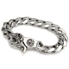 5f6ff24ed0b chrome hearts bracelet classic link m-clip