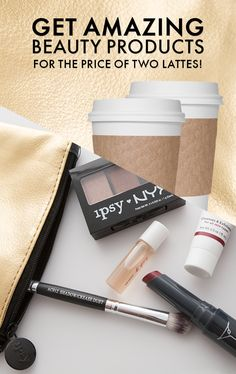 Show off your glam side and try ipsy today! Get 4-5 personalized and handpicked beauty products each month delivered straight to your door. Even better? Watch Makeup Tutorials, enter product giveaways, win free products! Join over 1.5MM+ subscribers and subscribe to ipsy now!