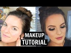 Easy Holiday Makeup Tutorial! | Casey Holmes - YouTube