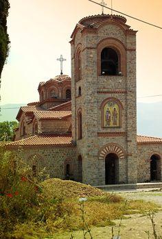 Cathedral Plaosnik-Ohrid - MACEDONIA - Катедрала Плаошник-Охрид - МАКЕДОНИЈА - 2006