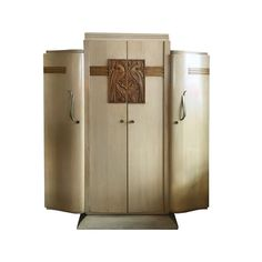 Art Deco French Furniture in Durmast,