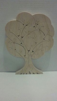Tree puzzle - do as intarsia?