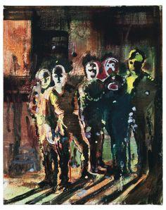 Le Mort Joyeux (thunderstruck9: Daniel Richter (German, b. 1962),...)