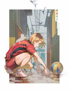 Fanarts Anime, Anime Characters, Manga Anime, Anime Art, Kenma Kozume, Kuroken, Iwaoi, Haikyuu Fanart, Haikyuu Anime
