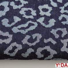 Knitted fabrics & woven fabrics professional supplier – Shanghai YiDA Textile Co., Ltd: TJ00051 The jacquard Denim Fabric is suitable for ...