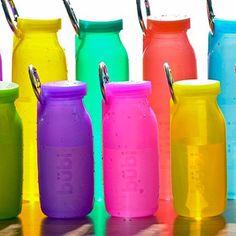 Bubi Bottle: BPA-Free collapsible water bottle - 22oz.