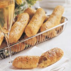 Cheese & Chive Breadsticks