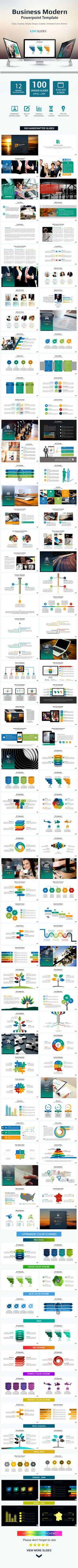 Business Modern Presentation Template #infographics #unique • Click here to download ! http://graphicriver.net/item/business-modern-presentation-template/10865858?s_rank=395&ref=pxcr