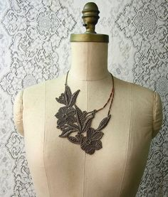 These lacy necklaces could be really beautiful tattoos, particularly on the chest.