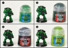 Tutorial: How to Paint Salamanders Space Marines - Tale of Painters