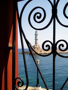 Venetian Lighthouse, Chania, Crete