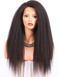 Wholesale 16 Inch Kinky Straight Human Hair 360 Lace Front Wig Brazilian Hair Wigs For Black Women Cheap Lace Front Wigs, Straight Lace Front Wigs, Front Lace, 100 Human Hair Wigs, Human Hair Lace Wigs, Brazilian Hair Wigs, Front Hair Styles, Hair Front, Wigs For Black Women