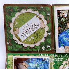 Hilda Designs: Blog Hop Latina Crafter: Christmas in July // Navidad en Julio