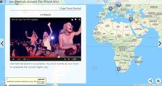 2015 Arts Festivals Around The World  https://www.heganoo.com/node/12600 #Travel #Festivals #Travel Tips #Tourism Travel Channel ARTE The Tourist Travel + Leisure