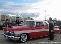 A 1956 Packard Executive, two weeks ago at the Morton Grove Classic Car Show.