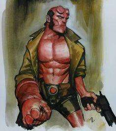 Hellboy by Adi Granov *