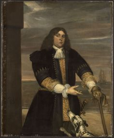 The Athenaeum - Portrait of Sea Captain Jan van Gelder, Stepson of Michiel Adriaensz de Ruyter (Jan Lievens - )