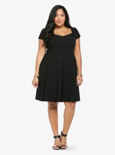 Simple Black dress from Torrid - Choir dress?