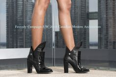 Canadian Luxury Apparel and Accessories Stiletto Heels, Campaign, Luxury, Boots, Accessories, Fashion, Crotch Boots, Moda, La Mode