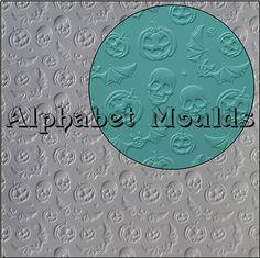 Hallowe'en Impression Mat by Alphabet Moulds UK