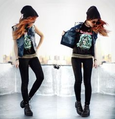 I love everything single thing about this outfit head to toe. Omg. Deffs want to look like this