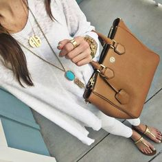 White And Camel Streetstyle by Sequins & Things