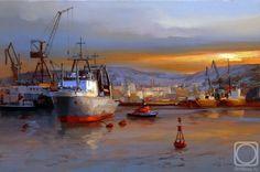 Shalaev Alexey.  le port de Mourmansk