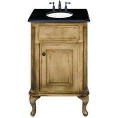 Images Of Buy Petite Classic Single Bathroom Vanity in Parchment