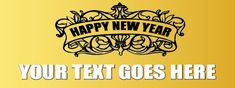 New Year Banner #8275 New Year Banner, Happy New, Decor, Decoration, Decorating, Deco