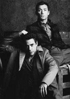 Holmes & Watson. Robert Downey Jr & Jude Law. Raddestlooks On The Internet http://www.raddestlooks.net