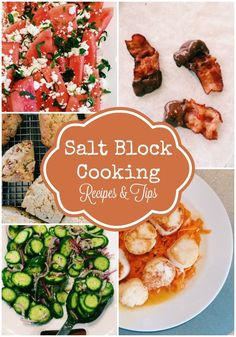 Salt Block Cooking Recipes and Tips. Learn how to use your salt block and try out these delicious recipes in your own kitchen soon!