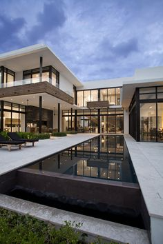 The South Island Residence in Golden Beach, Florida, designed by KZ Architecture.