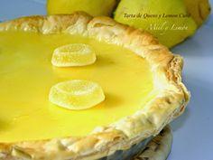 tarta de queso y limon Lemon Curd, Camembert Cheese, Pie, Desserts, Food, Sunlight, Gastronomia, Recipes, Lemon Dessert Recipes