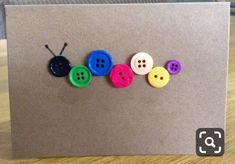 Items similar to Handmade Button Cards on Etsy – art lesson – Kreativ Book Crafts, Diy And Crafts, Paper Crafts, July Crafts, Homemade Birthday Cards, Homemade Cards, Homemade Greeting Cards, Handmade Greetings, Greeting Cards Handmade