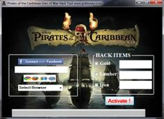 PIRATES OF THE CARIBBEAN ISLES OF WAR HACK TOOL 2014