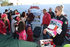 Policías estatales realizan posada navideña a niños con cáncer de AMANC | El Puntero