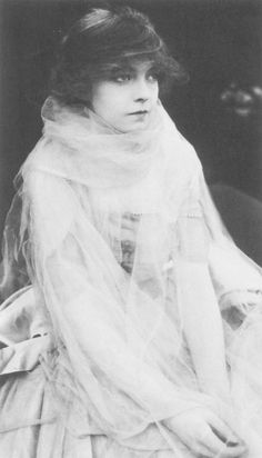 The incomparable Lillian Gish, who made her Hollywood debut in D.W. Griffith's (now reviled) Birth of a Nation (1915).