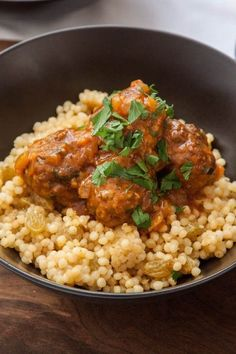 Authentic Tunisian Lamb Meatballs Recipe - The Corner Kitchen, ,