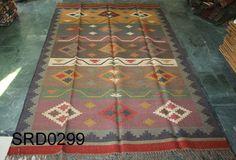 Vintage Turkish Classic Large Konya Rug, Kilim Rug, Carpet Kelim Rag Rug (6'x9') #Turkish