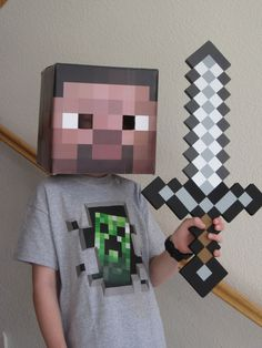 "So after I got on the Minecraft game to check it out, darling son decided a Minecraft-themed birthday party for him would be ""awesome."" (I wanted Lord of the Rings/Hobbit/Middle Earth) but he wanted Minecraft. We did Robin Hood a few years ago and that was sorta labor-intensive so I figured I could…"