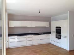 L-Küche mit Lack und Granit - Fertiggestellte Küchen - ProNorm TOP/Line
