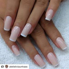 Ideas For Fails Design Bright French Manicures Love Nails, Pink Nails, How To Do Nails, Pretty Nails, Pretty Nail Designs, Nail Art Designs, Kawaii Nails, Dipped Nails, Stylish Nails