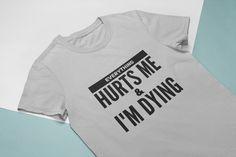 Funny Gym Shirt for Women Funny Gym Shirts, T Shirts For Women, Clothes For Women, Crop Tops, Lady, Modern, Fashion, Outerwear Women, Moda