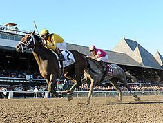 Rachel's Valentina continued to impress Sept. 5 at Saratoga Race Course, remaining perfect in two starts with her win in the $350,000 Spinaway Stakes (gr. I) for Stonestreet Stables.