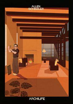 Woody Allen / Schindler. (Federico Babina) Archilife