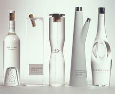 Unique Vodka packaging