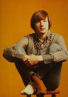 Peter Tork (The Monkees) Mismatched Socks, before it was cool.. Because Peter rocks like that